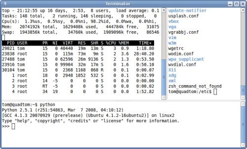 Use Multiple Terminals in One Window | Tombuntu