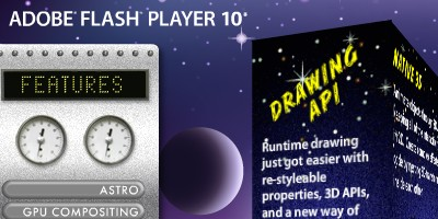 Flash Player 10 feature demo