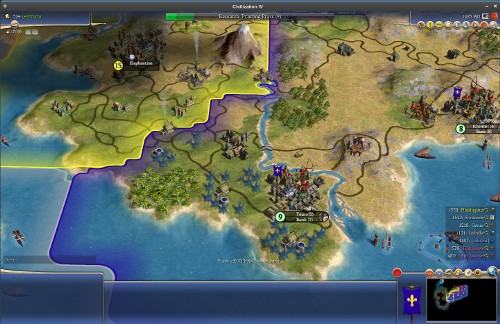 Civilization IV running on Linux