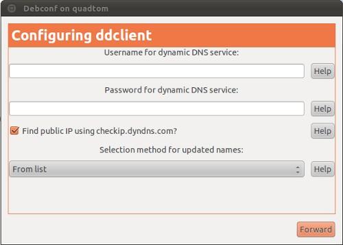 Ubuntu ddclient not updating